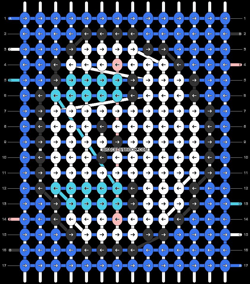 Alpha pattern #32693 pattern