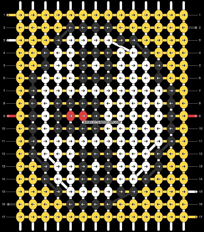 Alpha pattern #32694 pattern