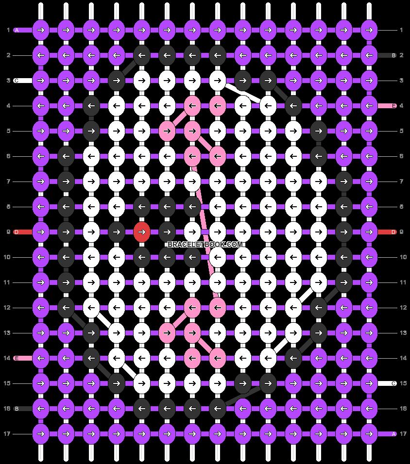 Alpha pattern #32695 pattern