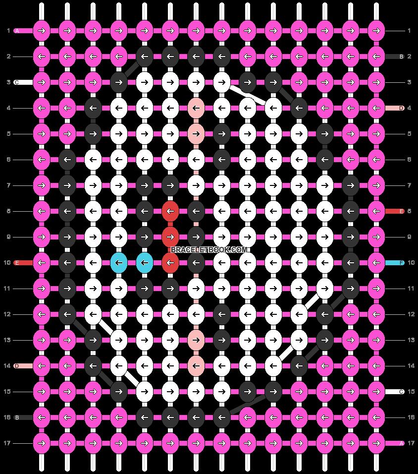 Alpha pattern #32696 pattern