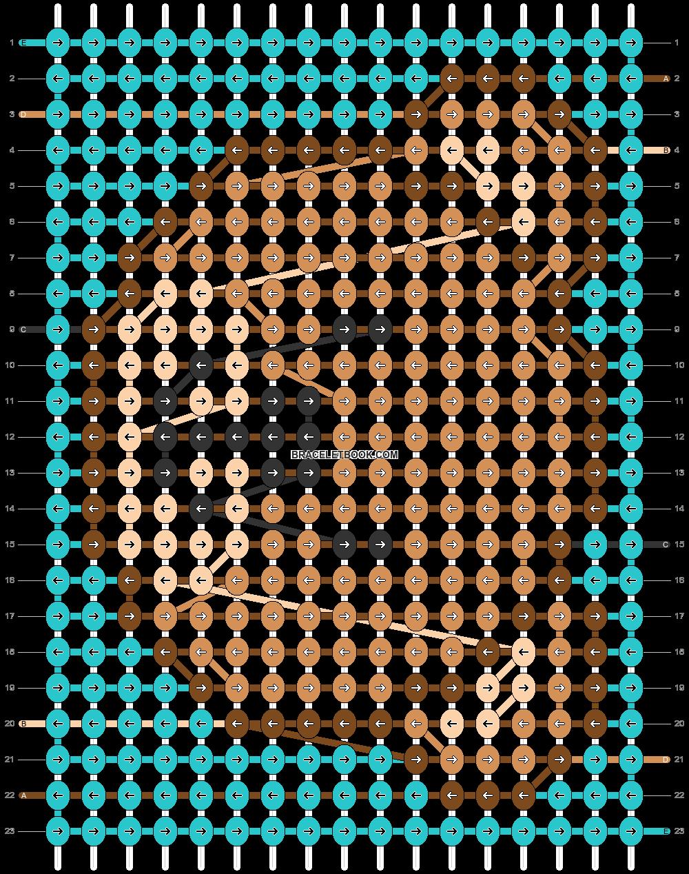 Alpha pattern #32697 pattern