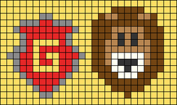 Alpha pattern #32766