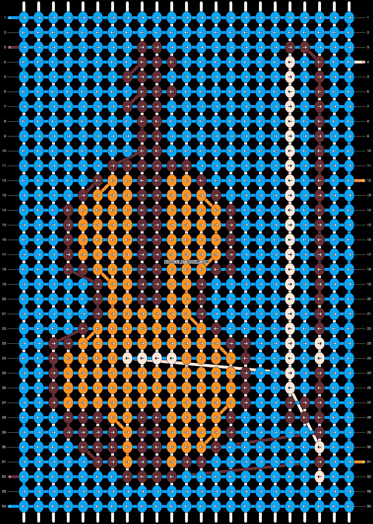 Alpha pattern #32781 pattern