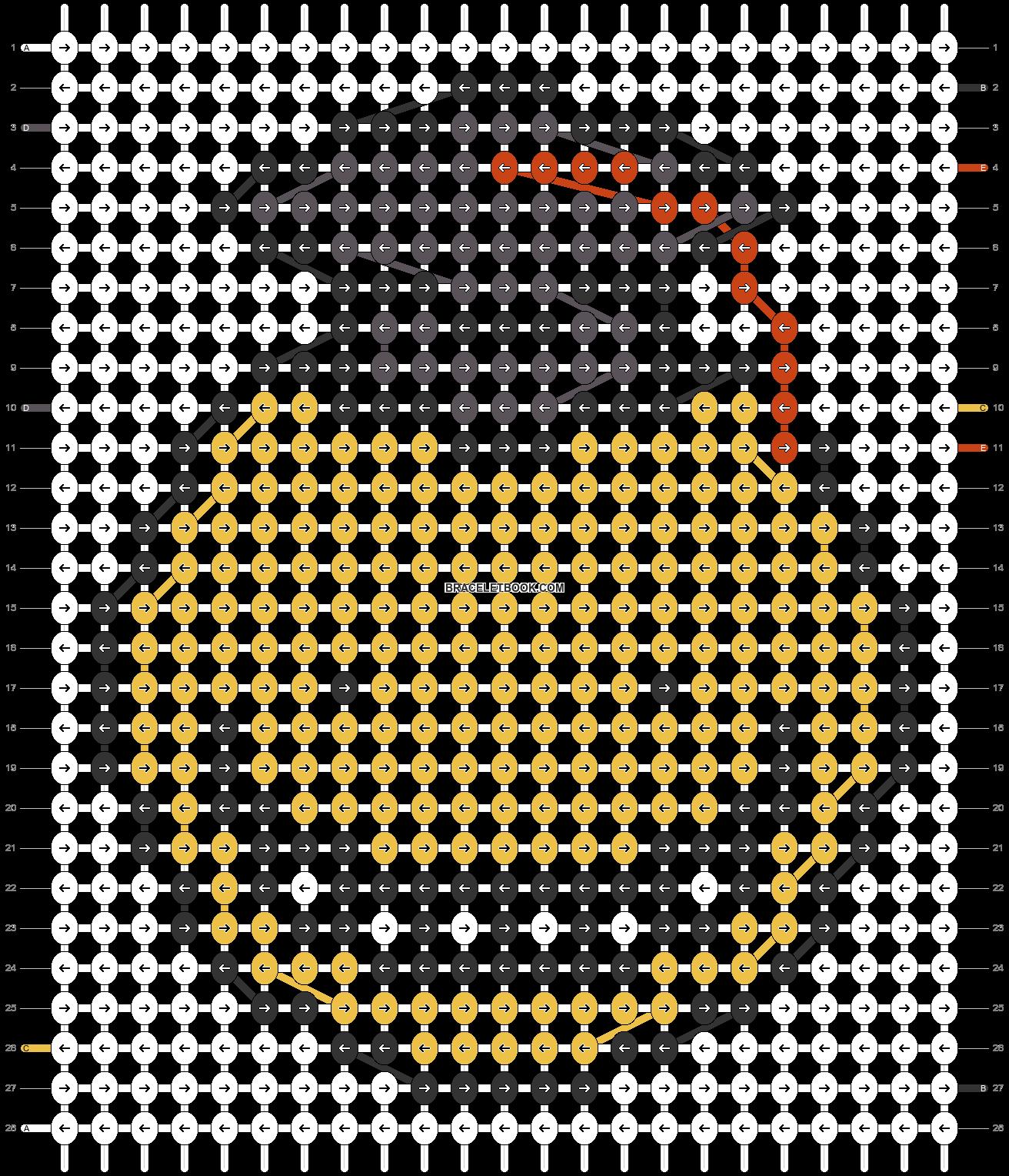 Alpha pattern #32800 pattern