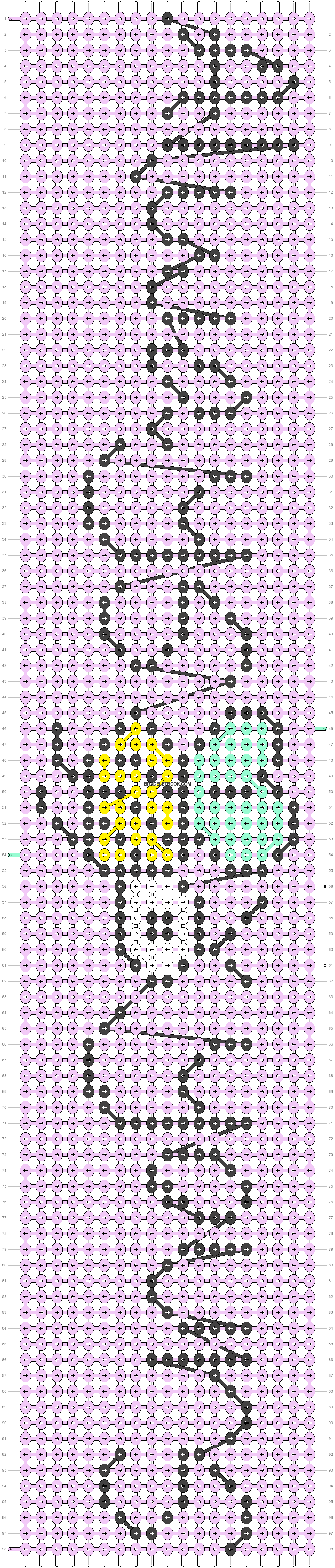 Alpha pattern #32825 pattern