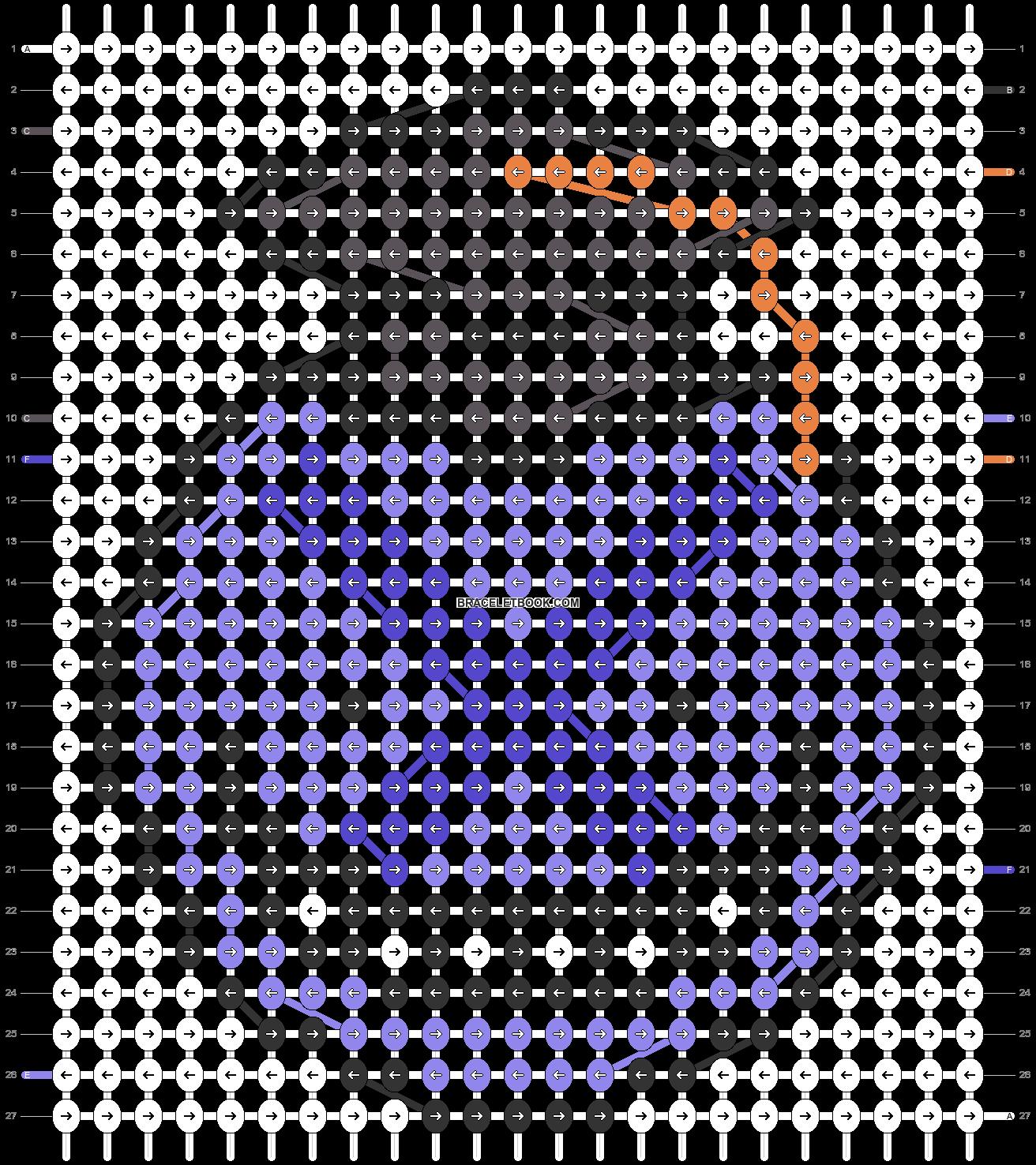 Alpha pattern #32837 pattern