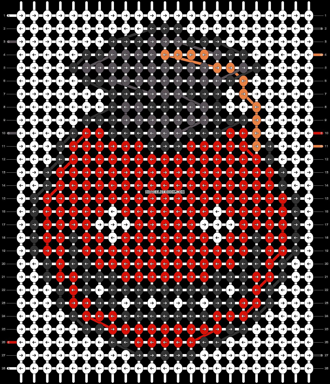Alpha pattern #32838 pattern