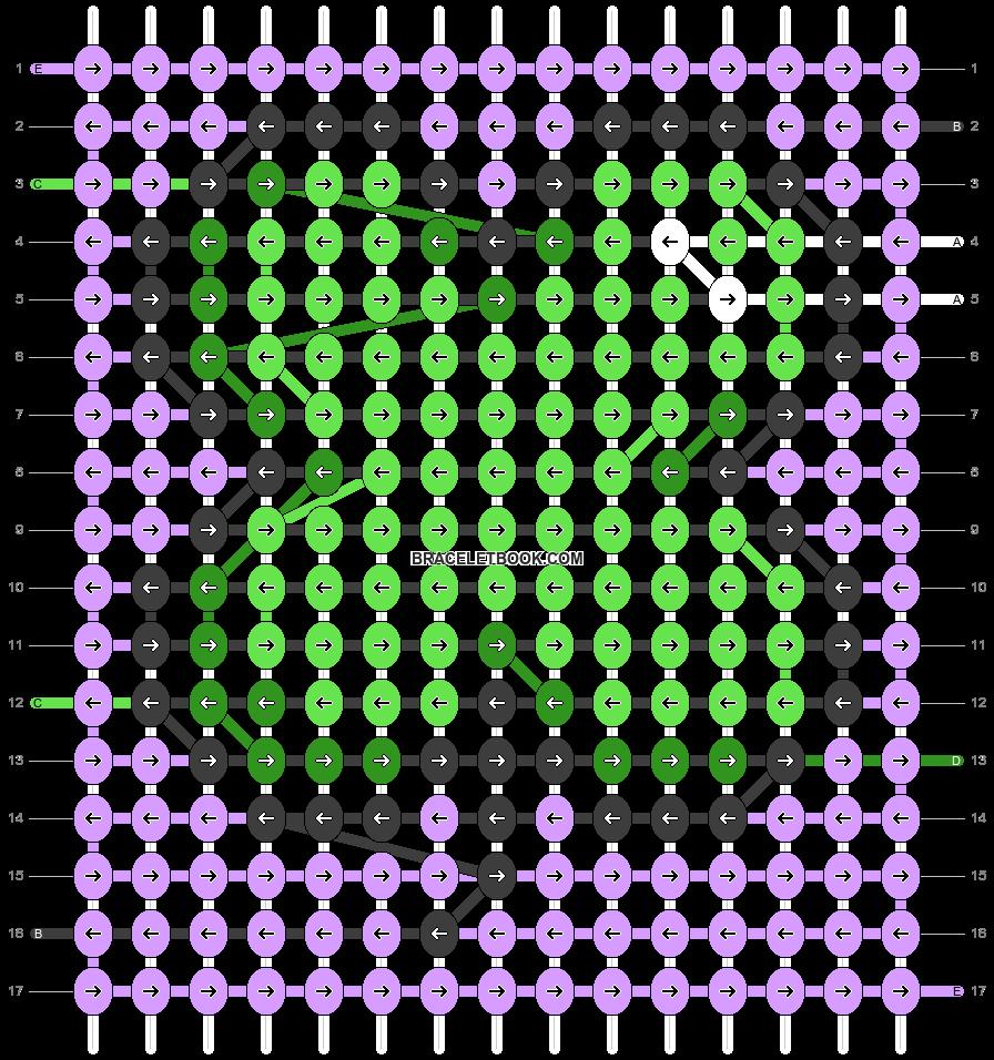 Alpha pattern #32847 pattern