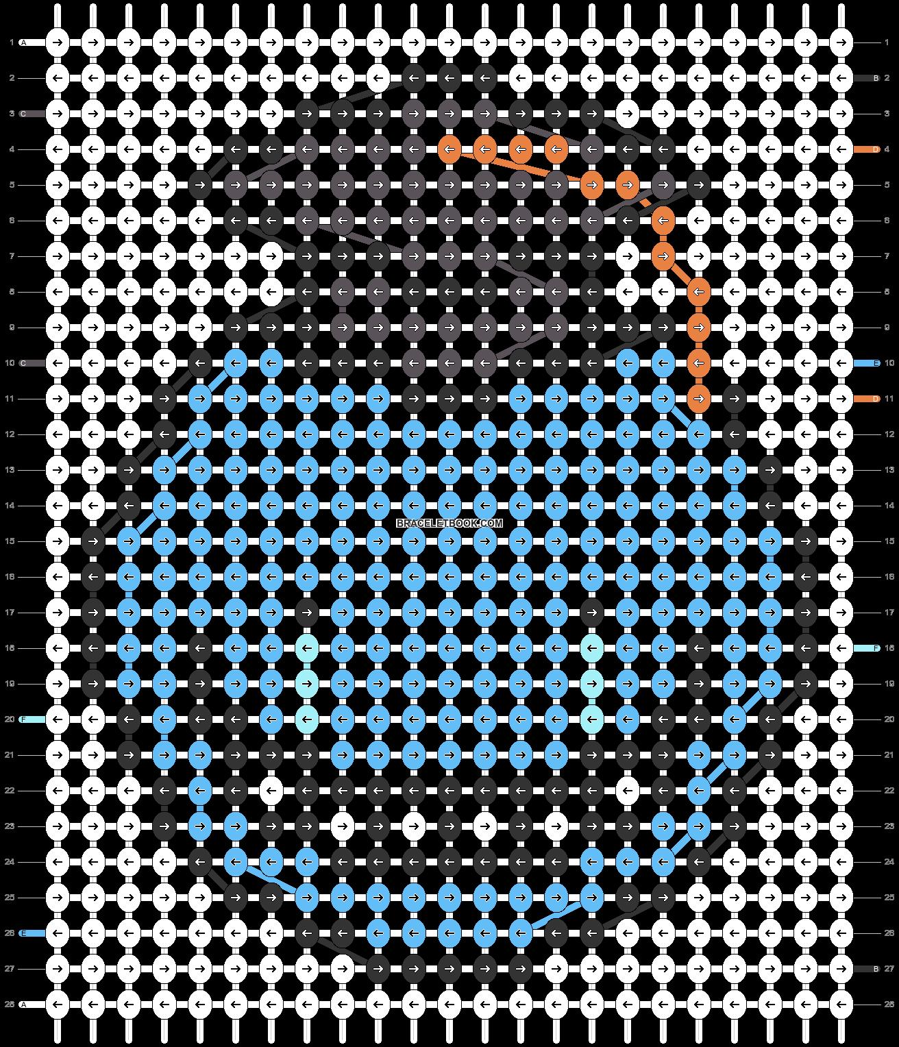 Alpha pattern #32854 pattern