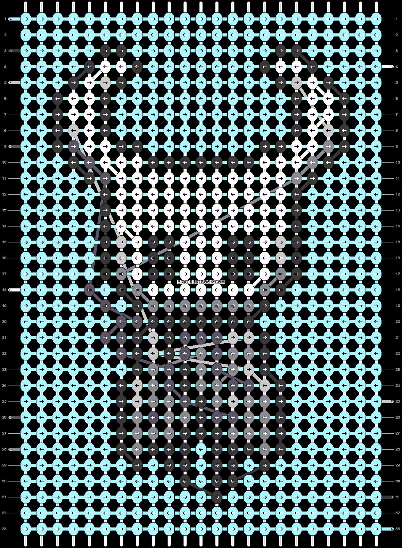 Alpha pattern #32907 pattern