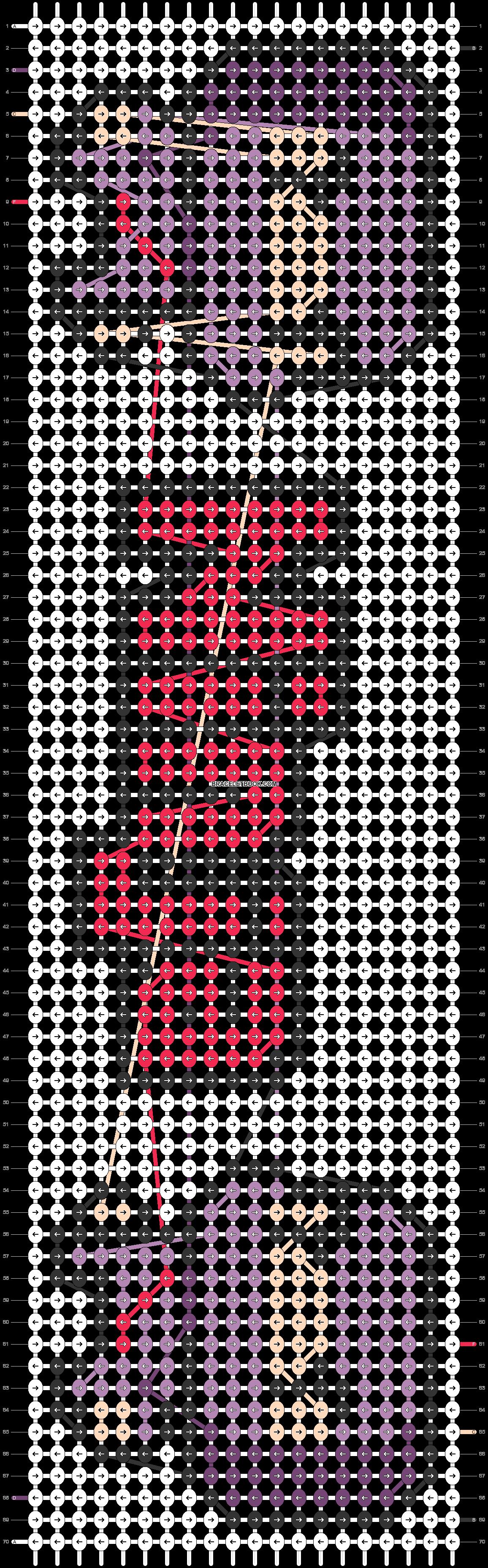 Alpha pattern #33035 pattern