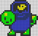 Alpha pattern #33078