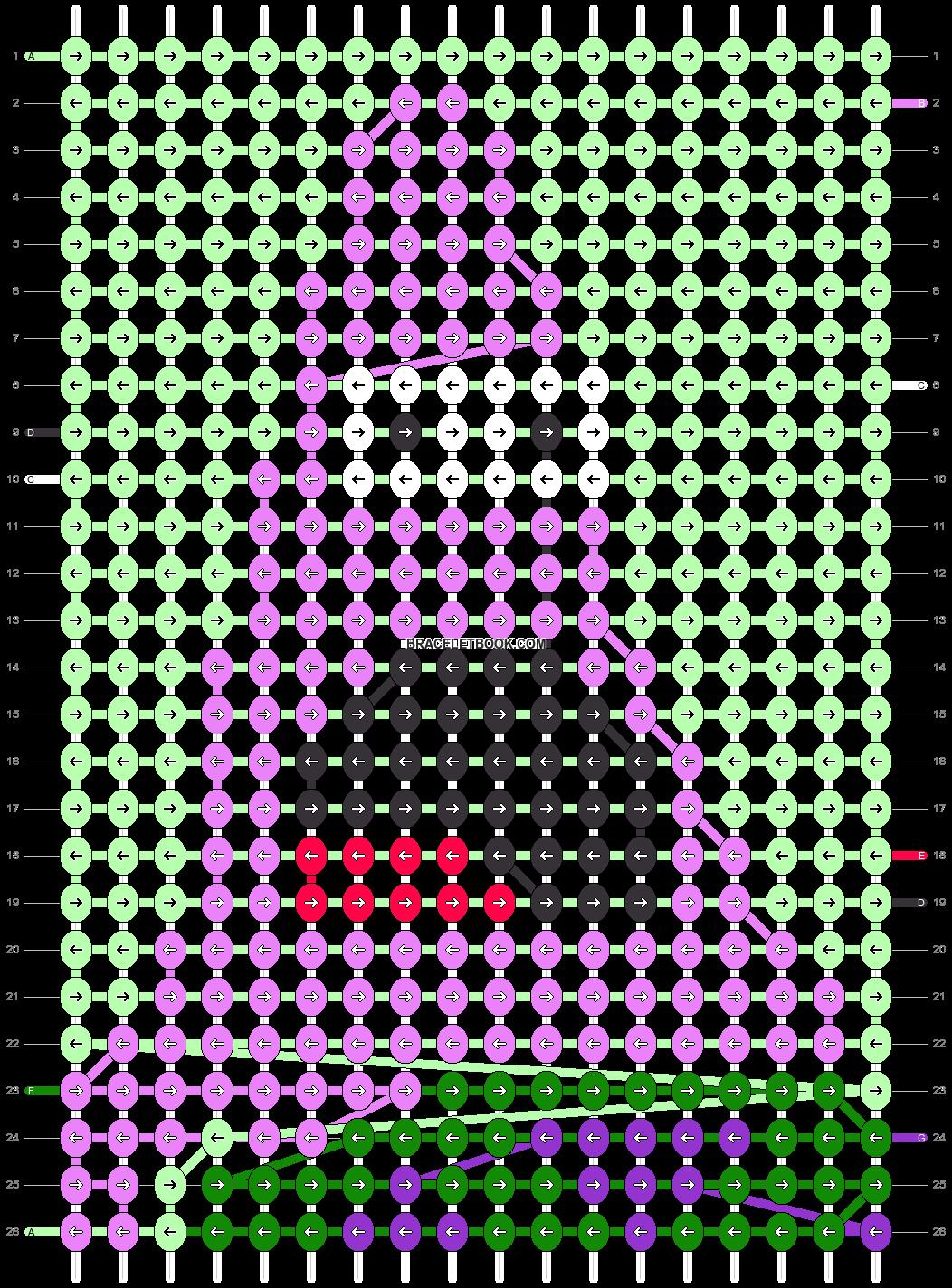 Alpha pattern #33185 pattern