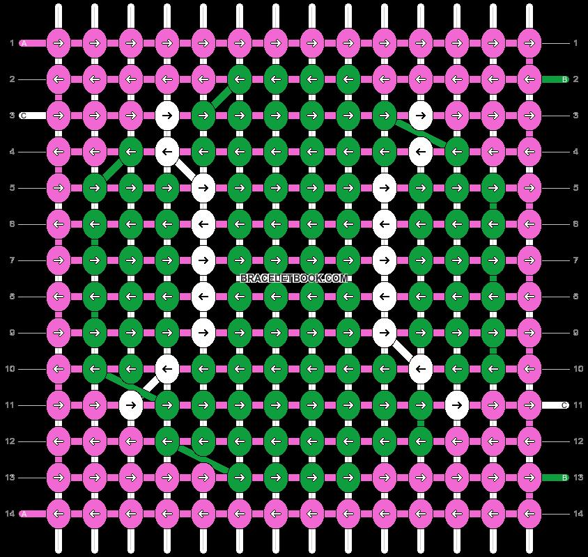 Alpha pattern #33198 pattern