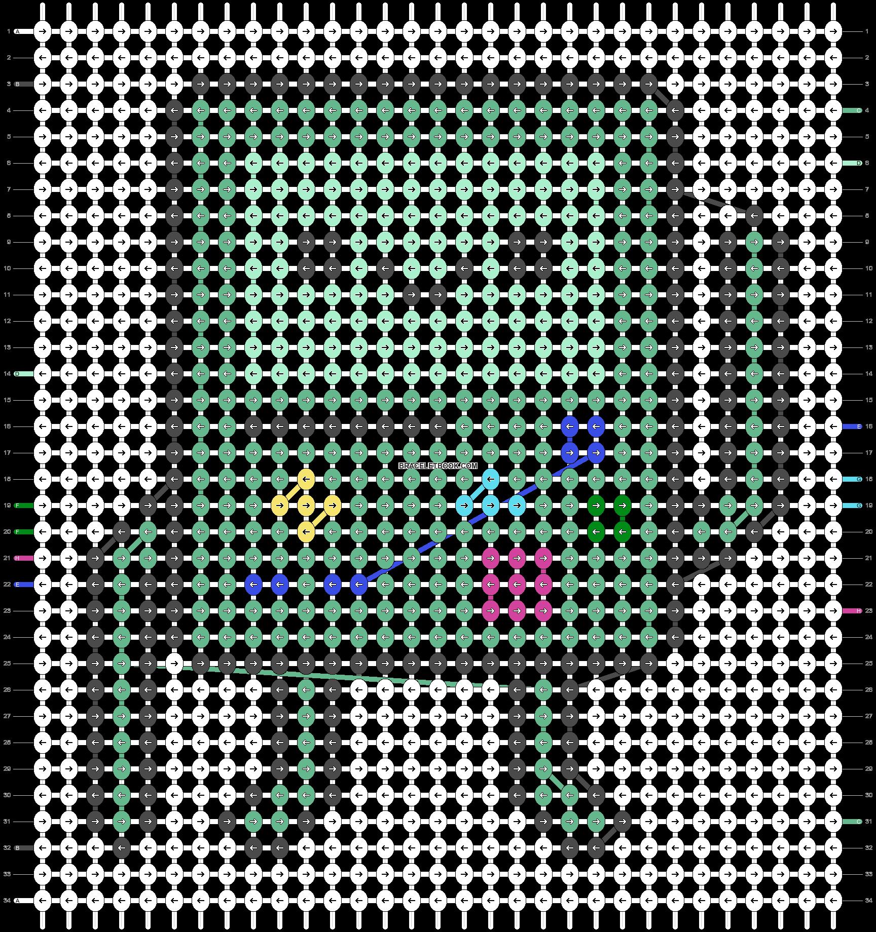Alpha pattern #33209 pattern