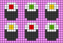 Alpha pattern #33299