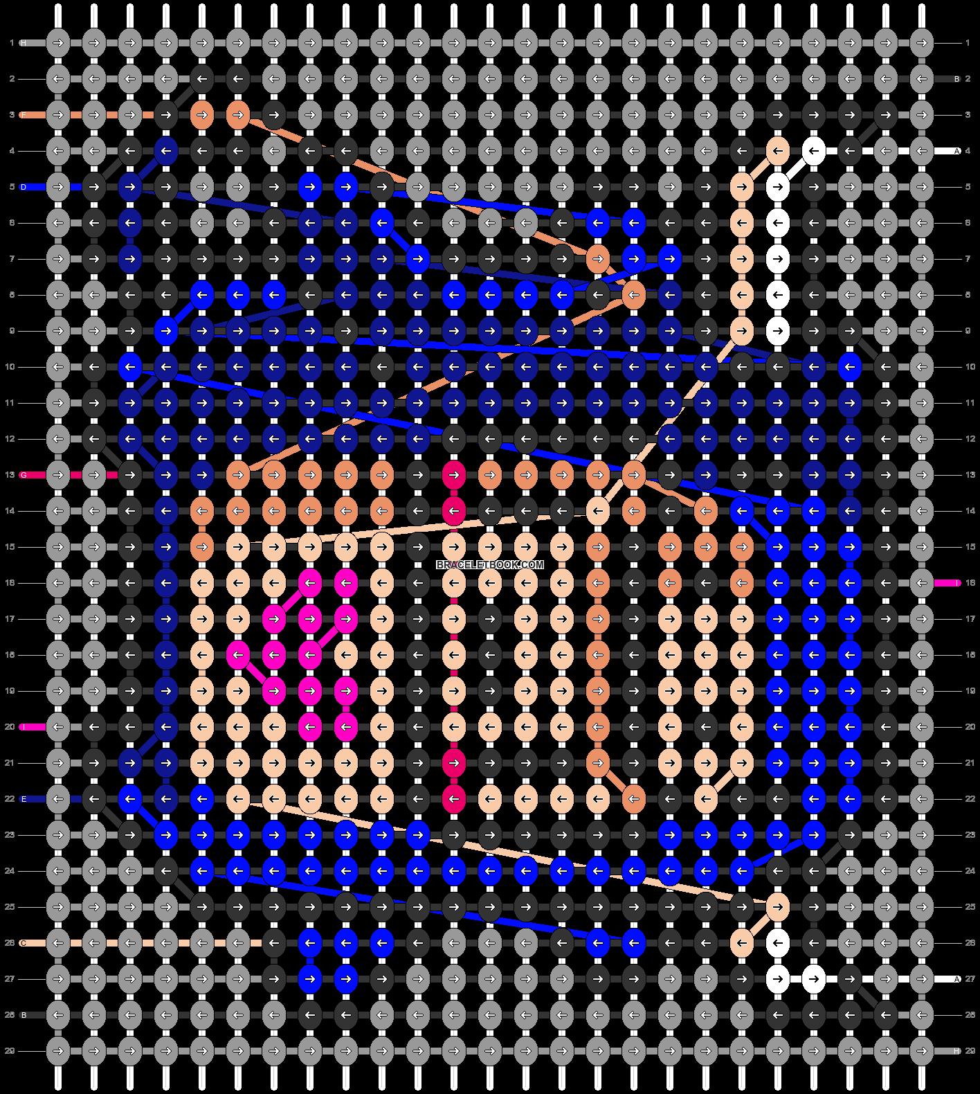 Alpha pattern #33300 pattern