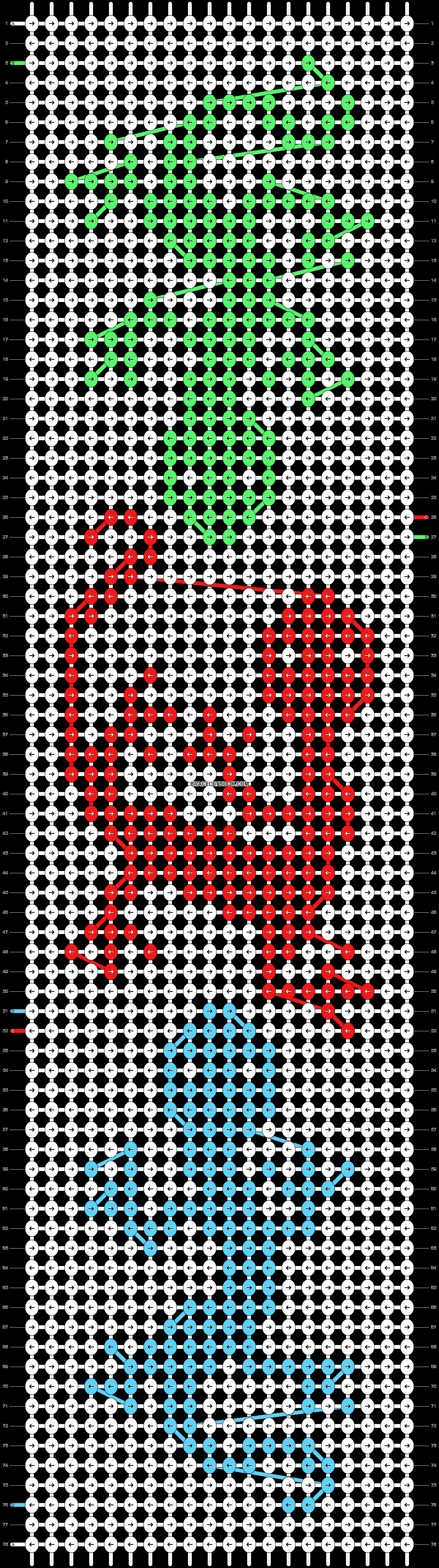 Alpha pattern #33321 pattern