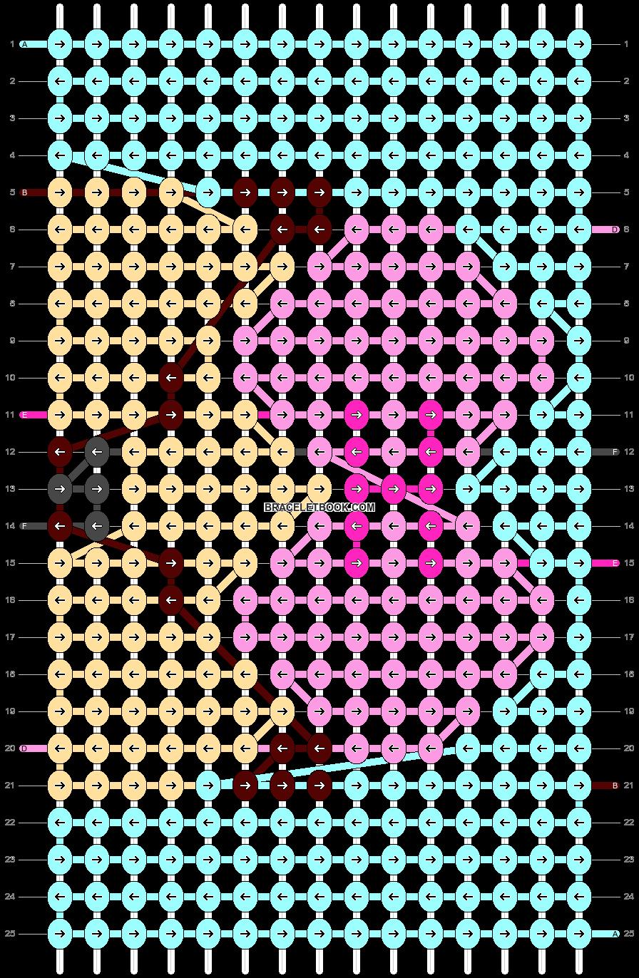 Alpha pattern #33340 pattern