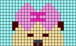 Alpha pattern #33340