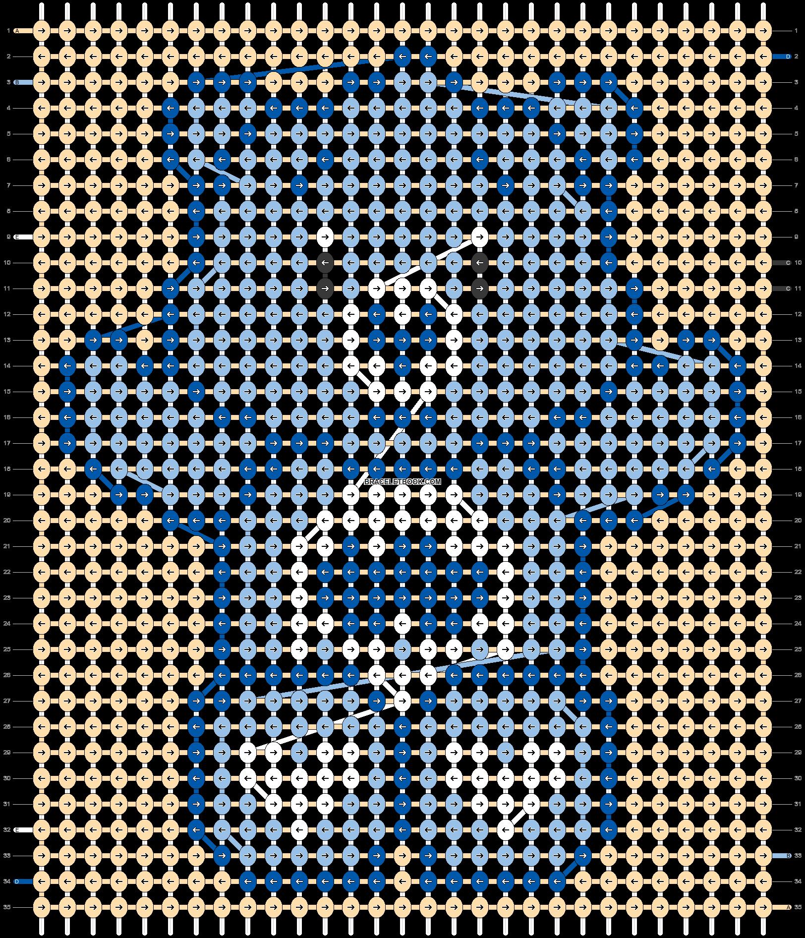 Alpha pattern #33380 pattern