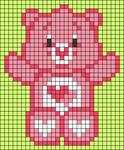 Alpha pattern #33381