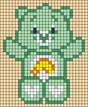 Alpha pattern #33392