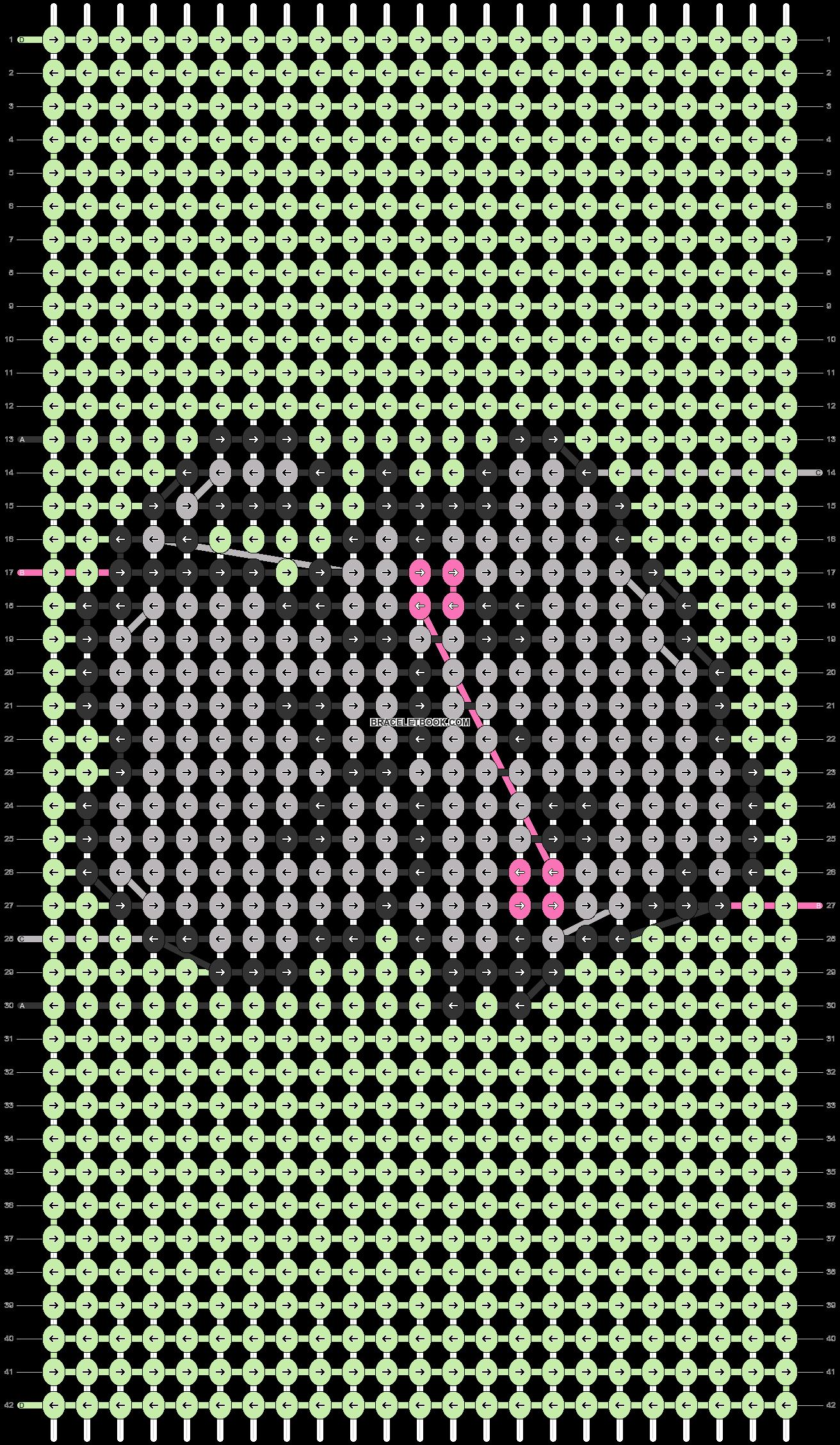 Alpha pattern #33412 pattern