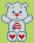 Alpha pattern #33435