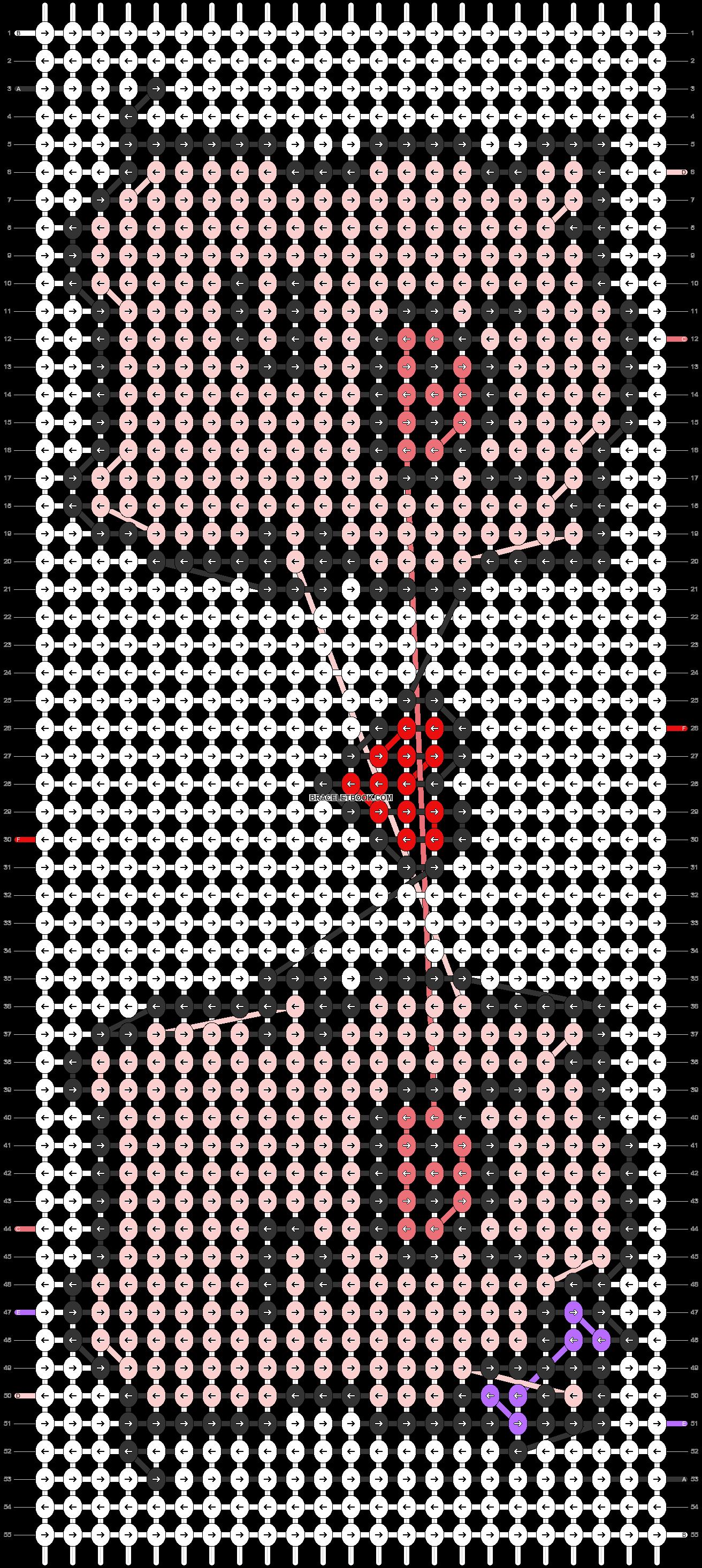 Alpha pattern #33454 pattern