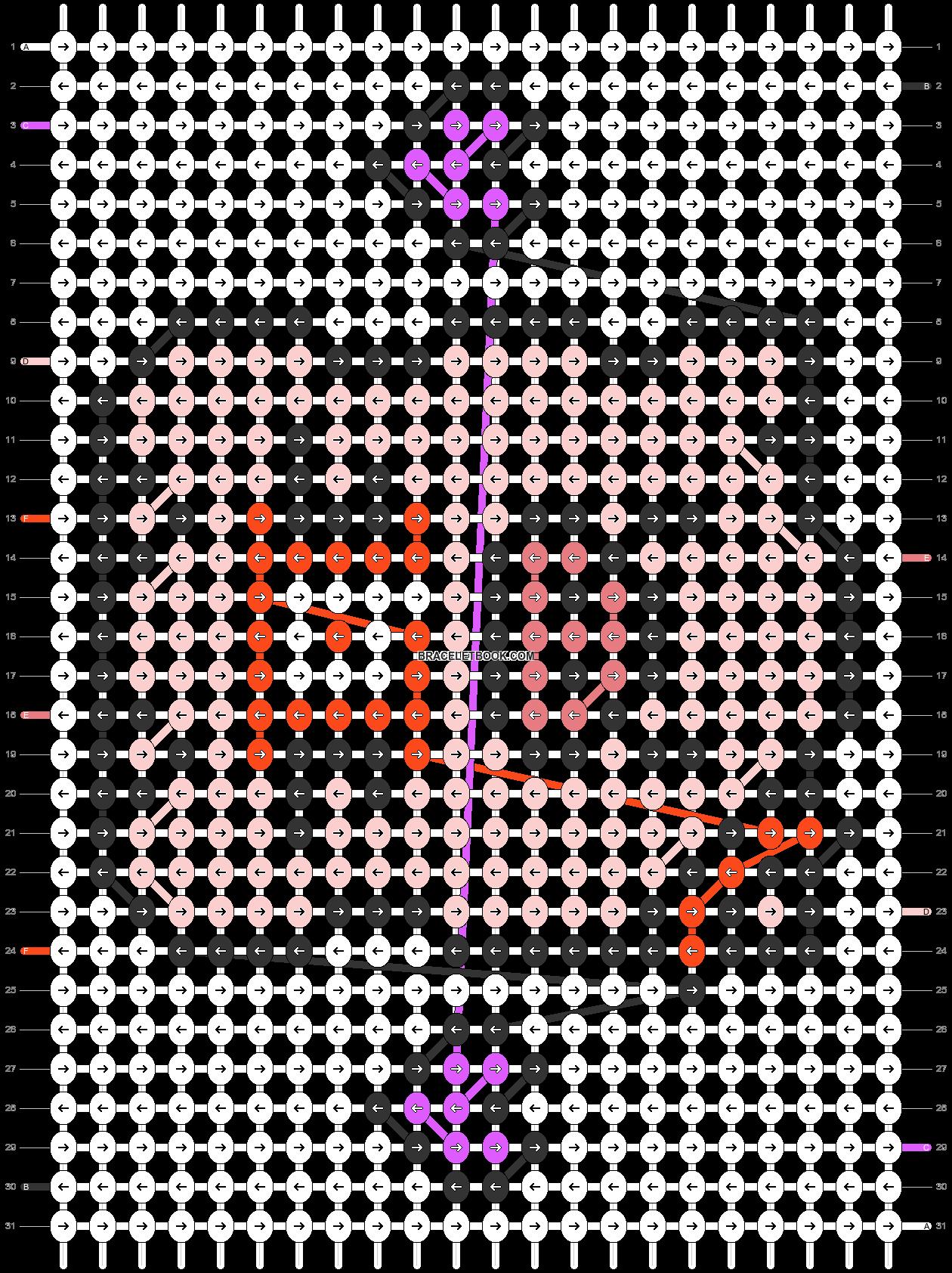 Alpha pattern #33456 pattern