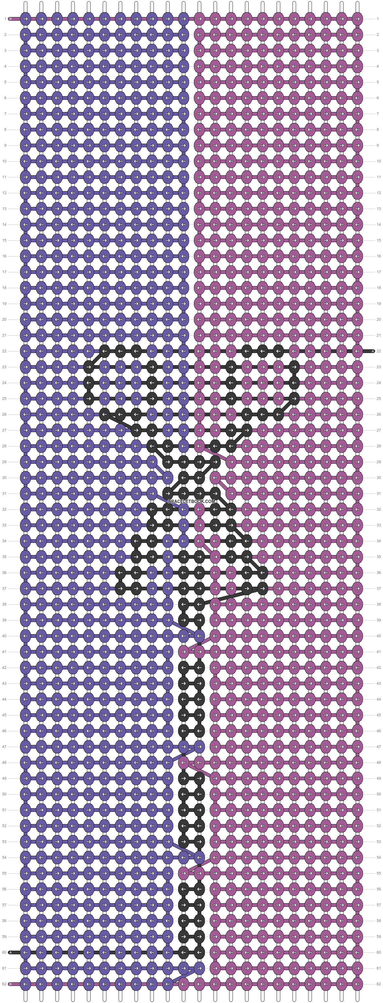 Alpha pattern #33458 pattern