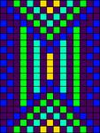 Alpha pattern #33465