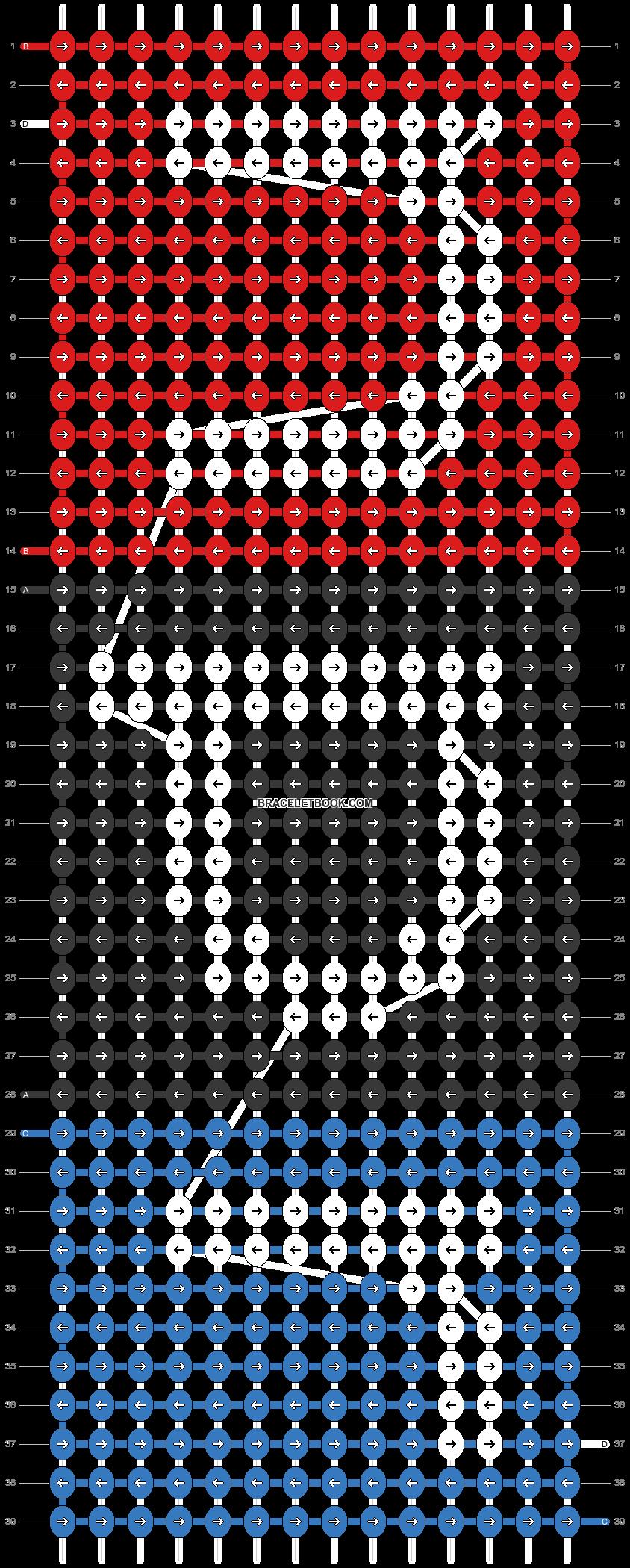 Alpha pattern #33483 pattern