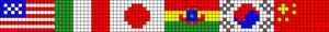 Alpha pattern #33487