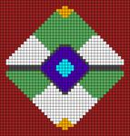 Alpha pattern #33494