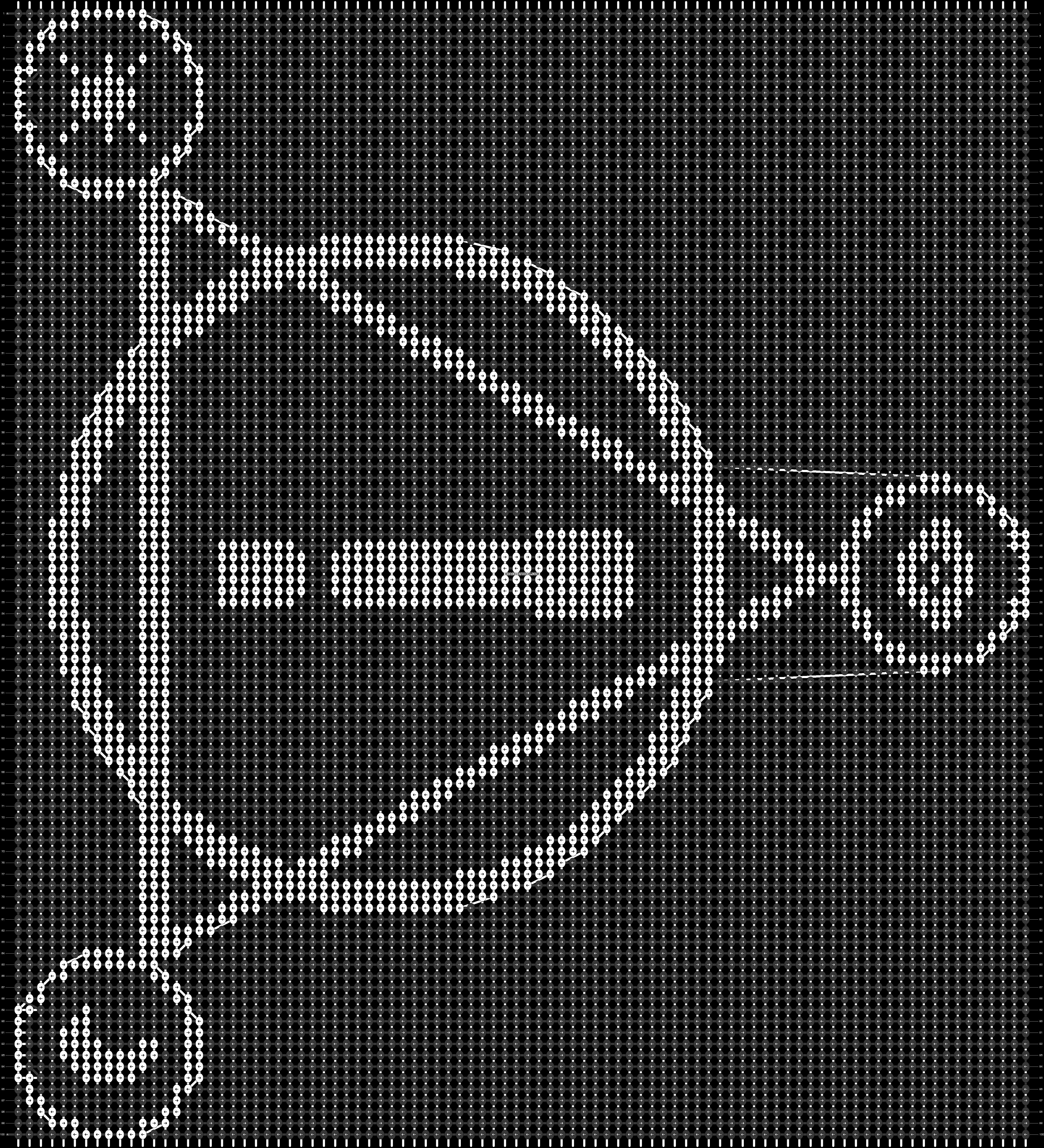 Alpha pattern #33504 pattern