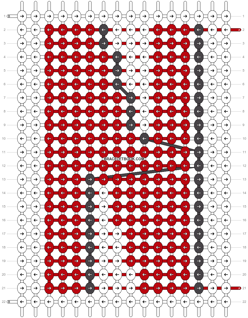 Alpha pattern #33510 pattern