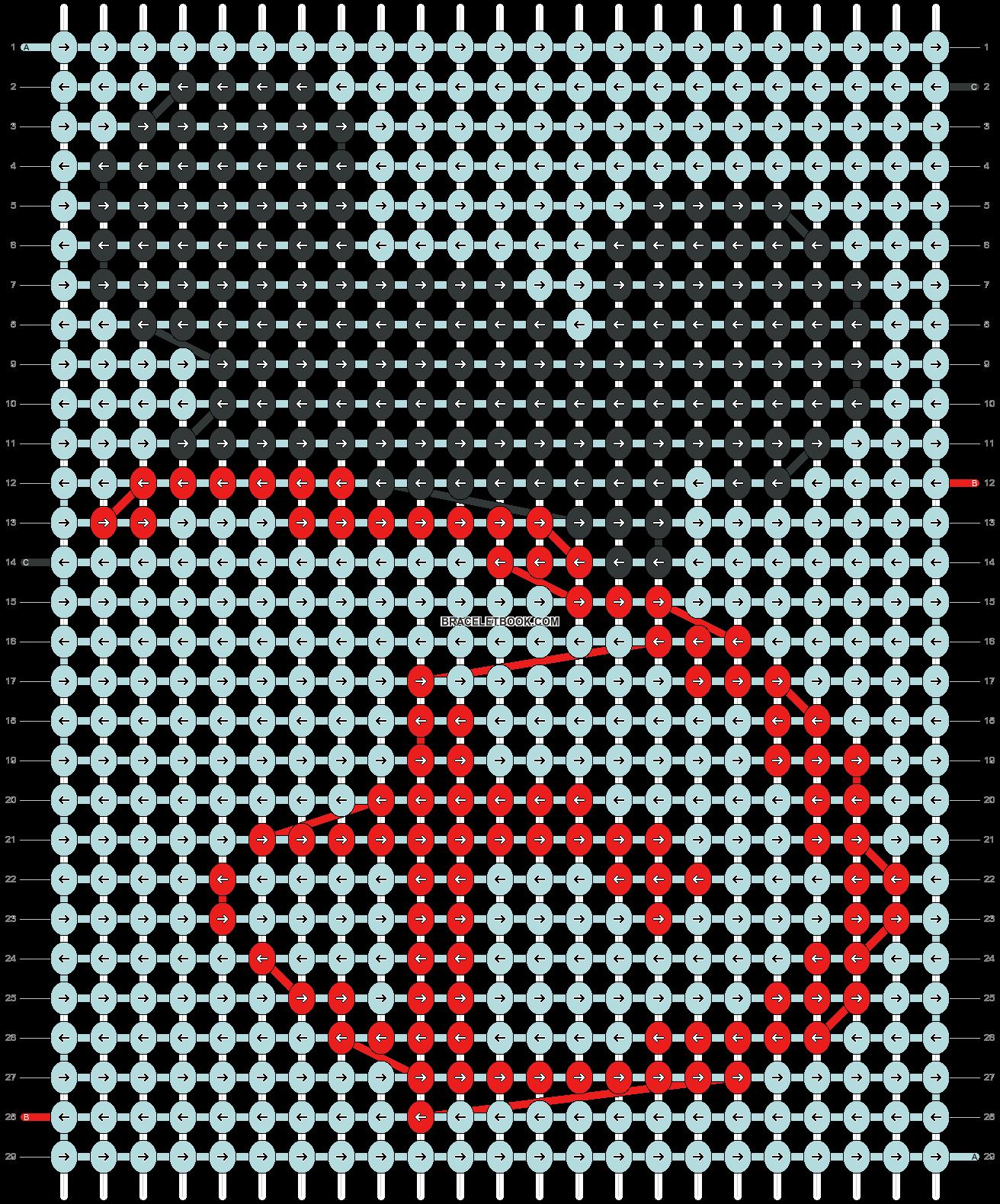Alpha pattern #33511 pattern