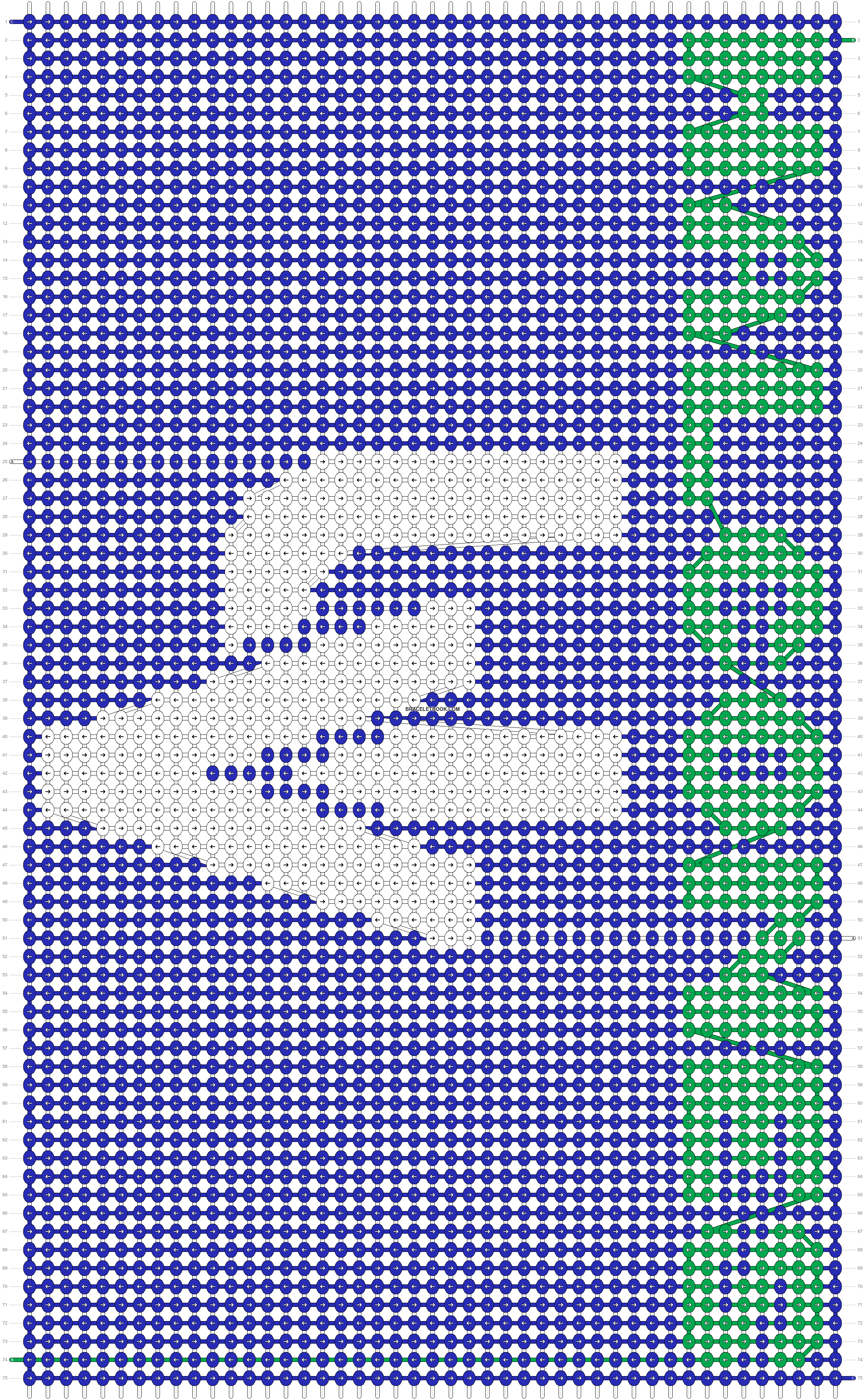 Alpha pattern #33513 pattern
