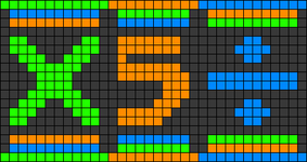 Alpha pattern #33519