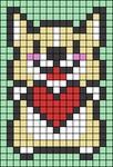 Alpha pattern #33534