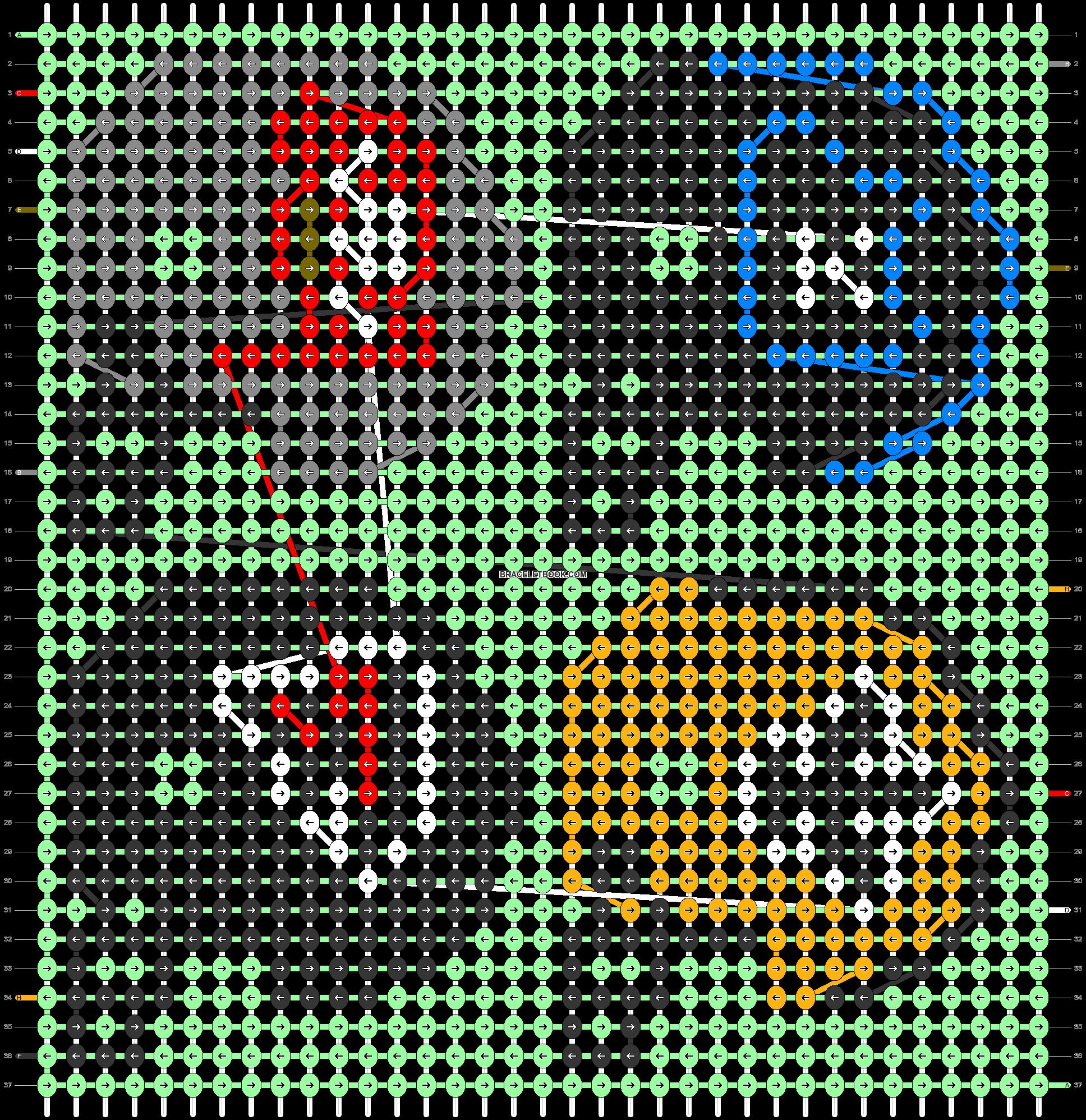 Alpha pattern #33576 pattern