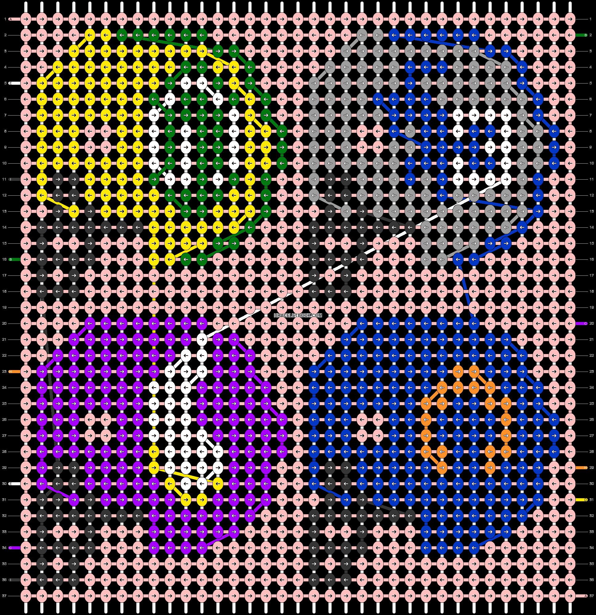 Alpha pattern #33584 pattern
