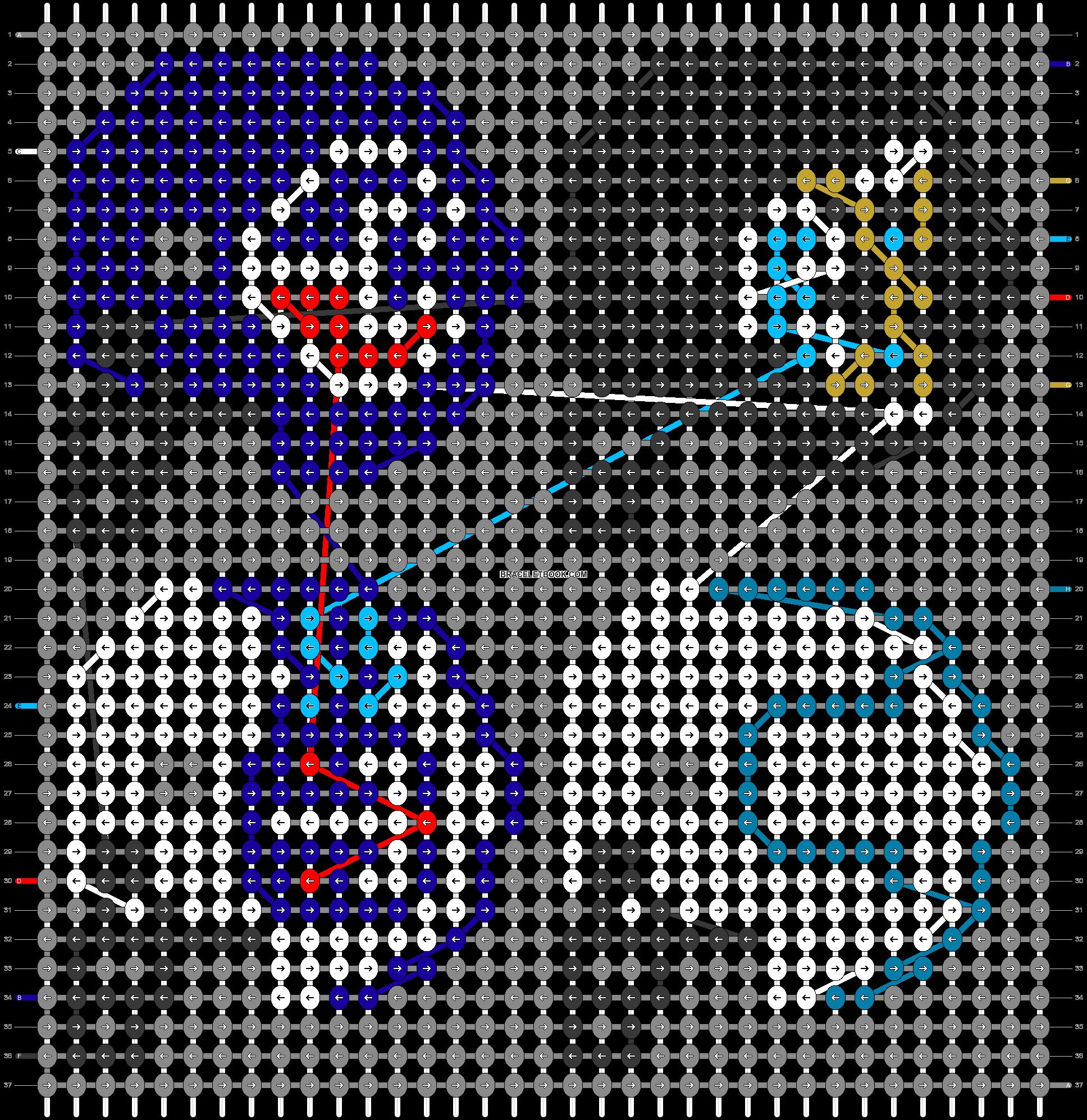 Alpha pattern #33595 pattern