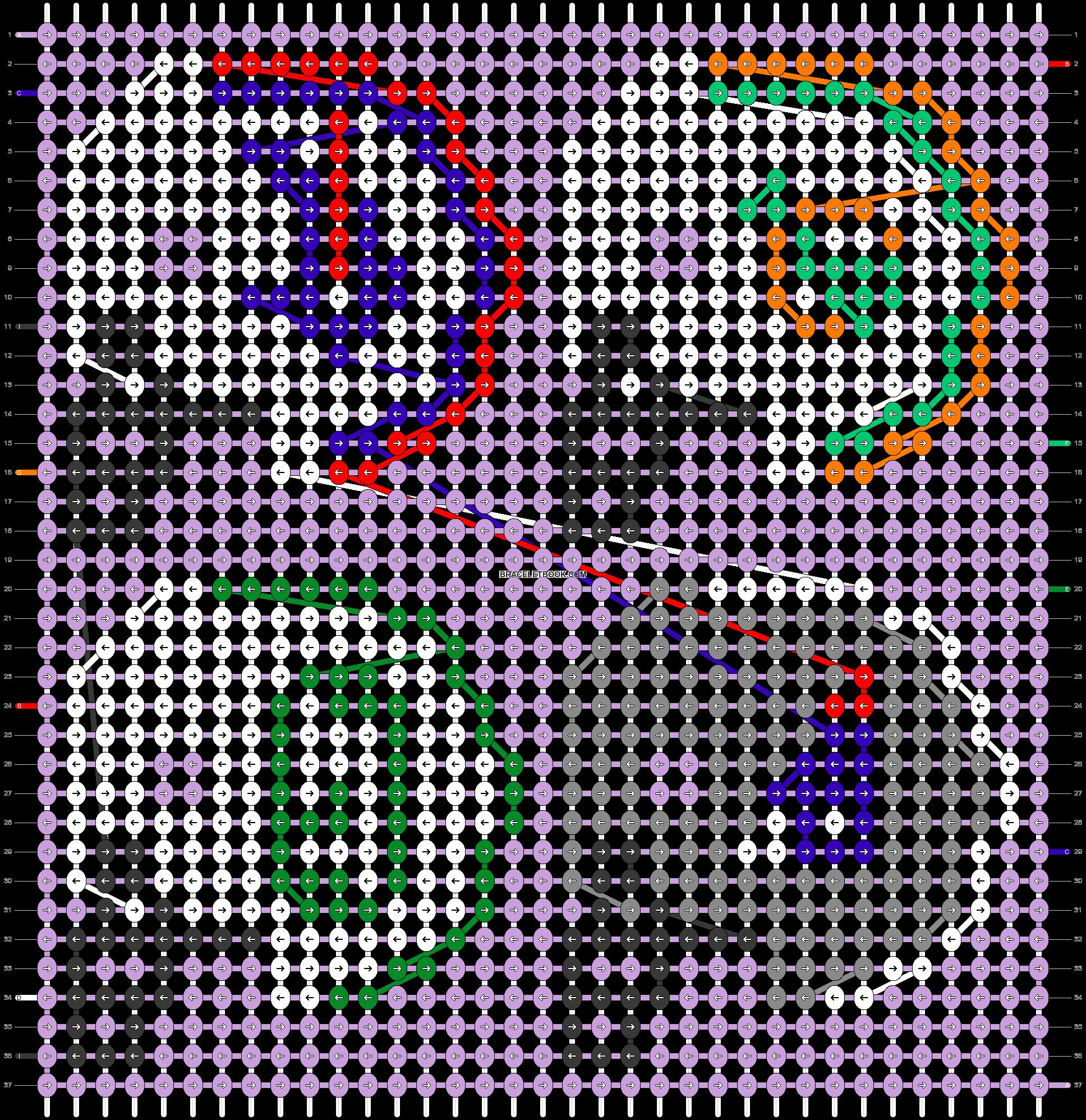 Alpha pattern #33597 pattern