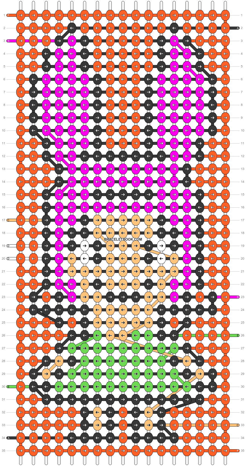 Alpha pattern #33598 pattern