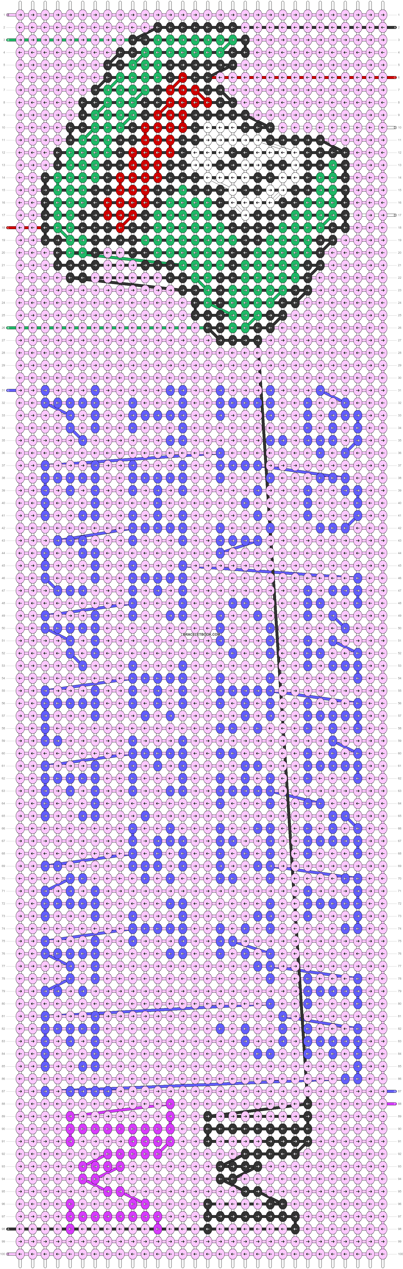 Alpha pattern #33600 pattern