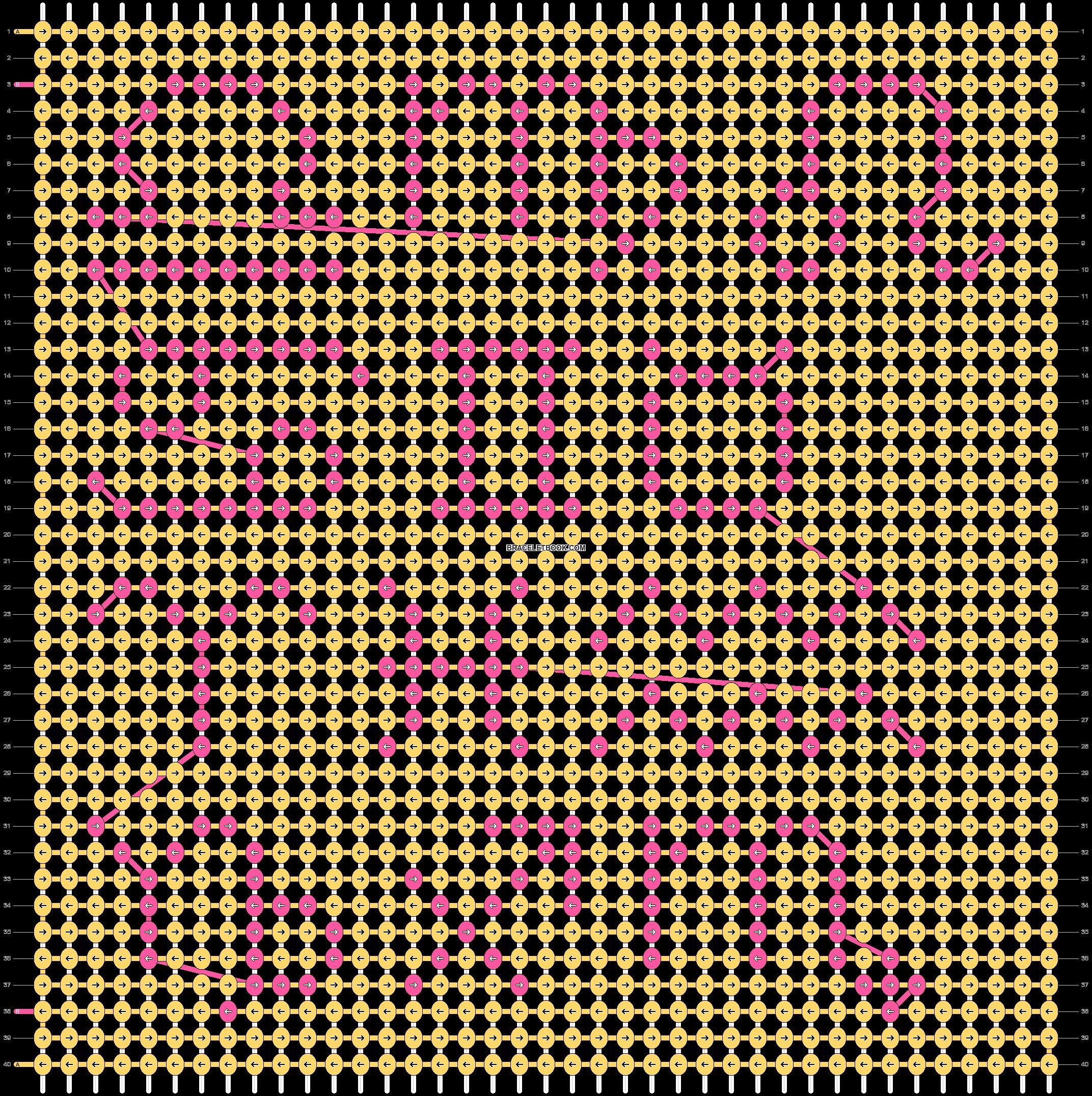 Alpha pattern #33606 pattern