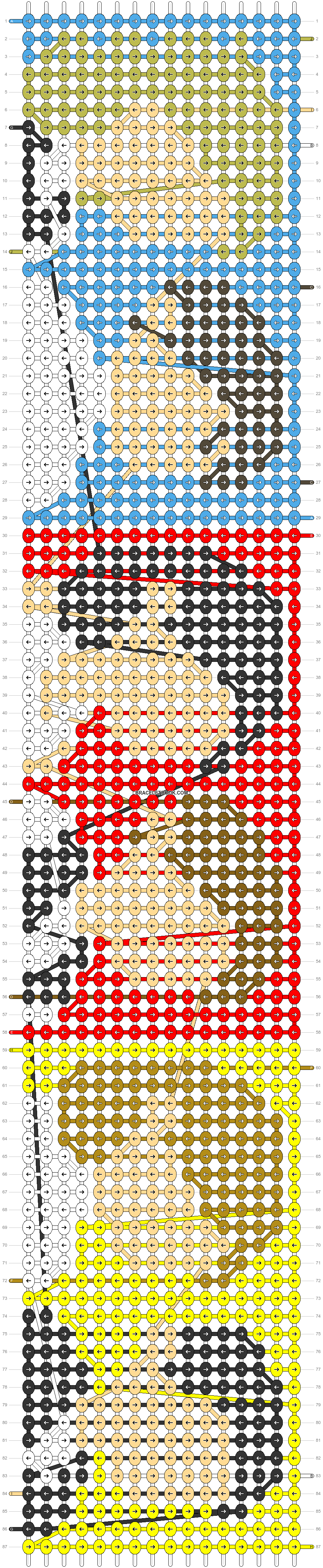 Alpha pattern #33612 pattern